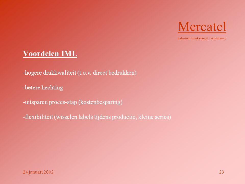 Voordelen IML -hogere drukkwaliteit (t.o.v.