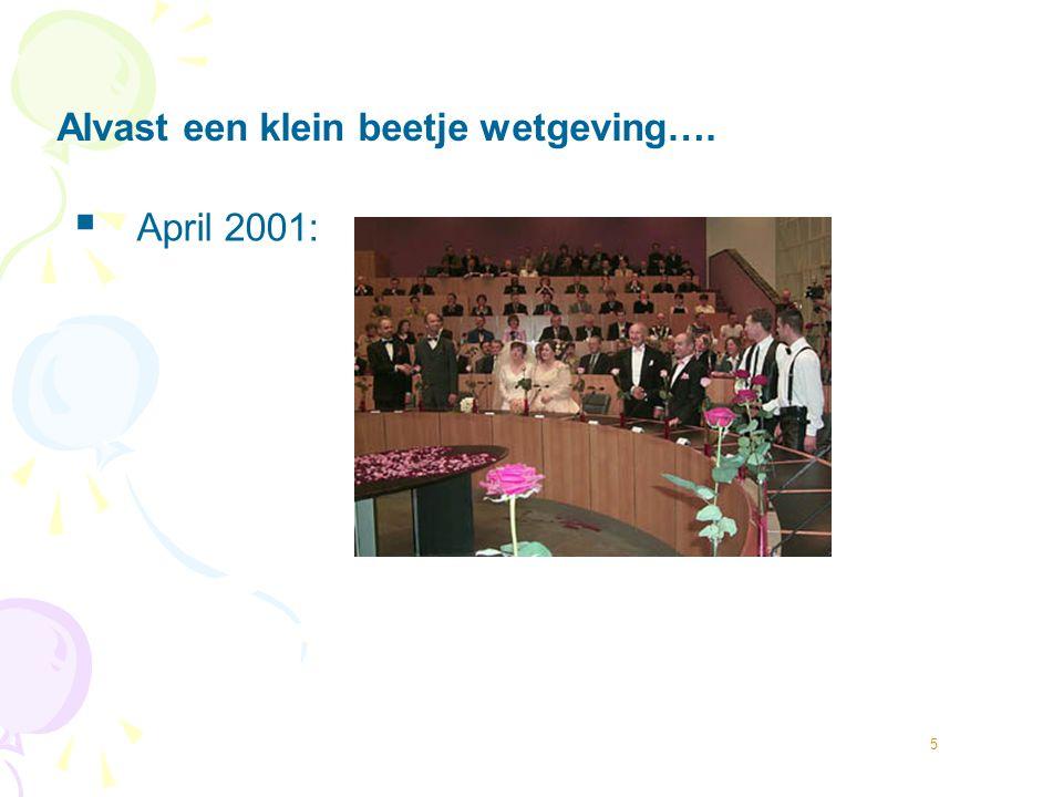 6  Aantal samenwonende stellen van hetzelfde geslacht women men Bos & Van Gelderen, 2010 X 1000
