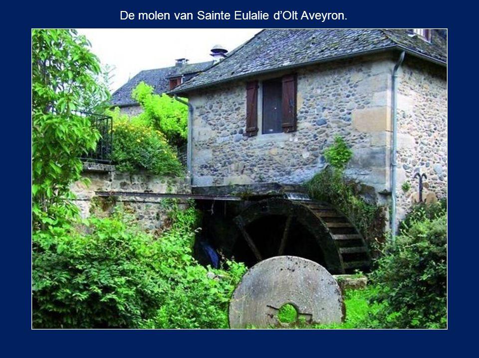 De molen van Le Landion (nabij Troyes). Is nu een restaurant.