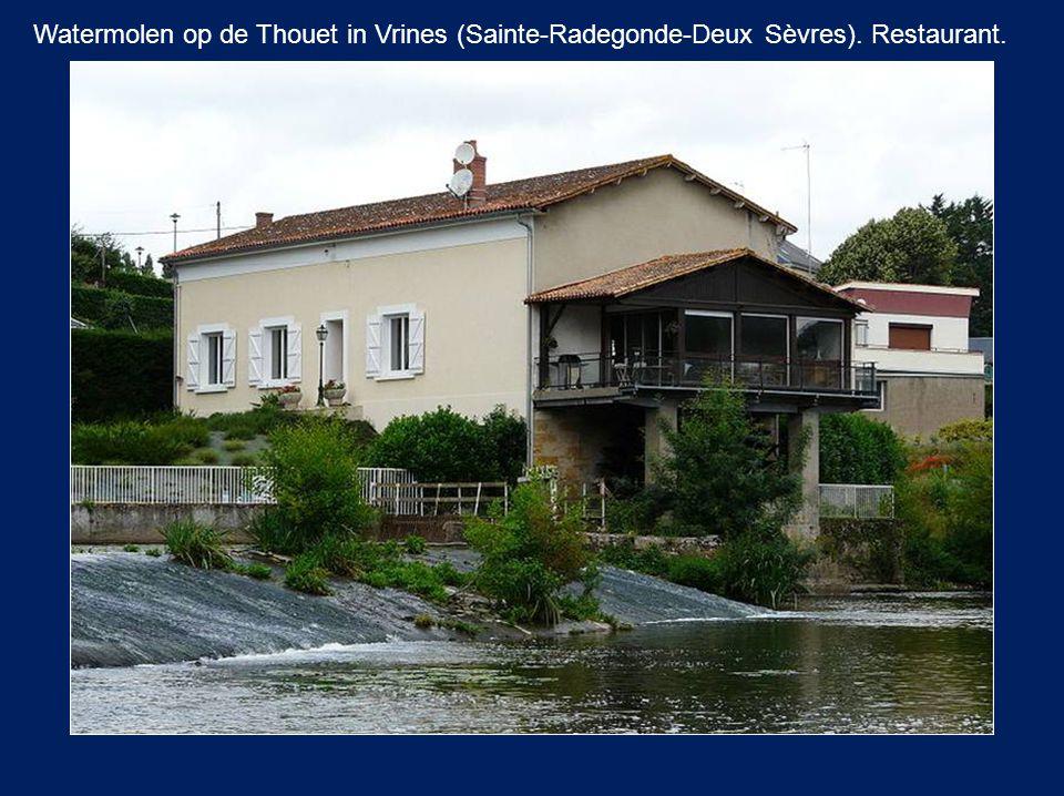 De molen van Sainte Eulalie d'Olt Aveyron.