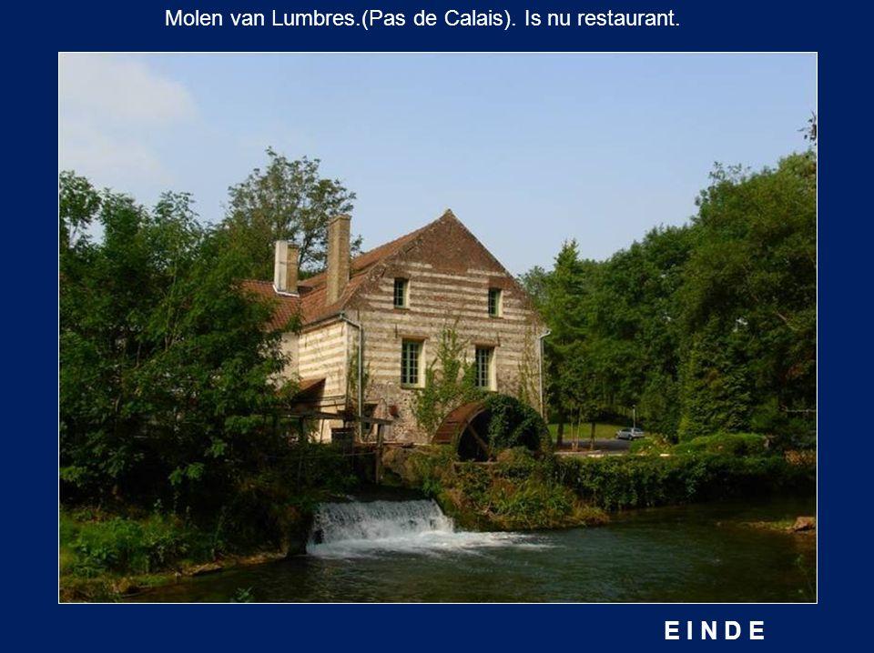 De molen « Tiquet » in Wissant.