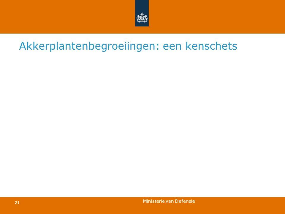 Ministerie van Defensie 21 Akkerplantenbegroeiingen: een kenschets