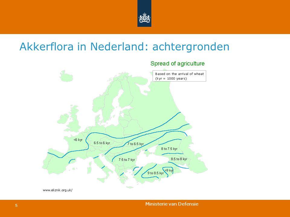 Ministerie van Defensie 5 Akkerflora in Nederland: achtergronden