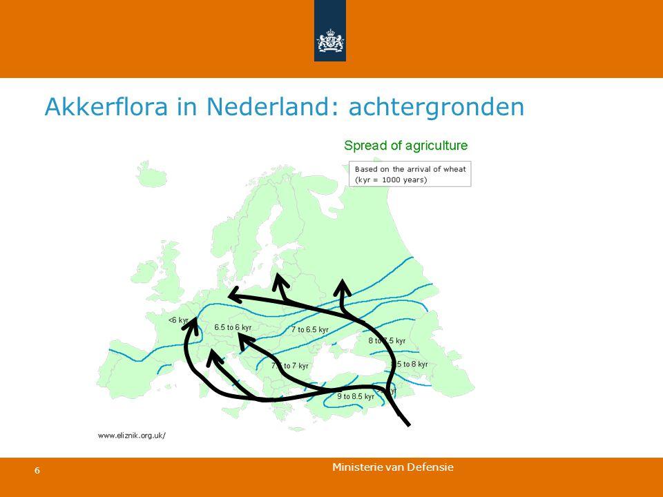 Ministerie van Defensie 6 Akkerflora in Nederland: achtergronden