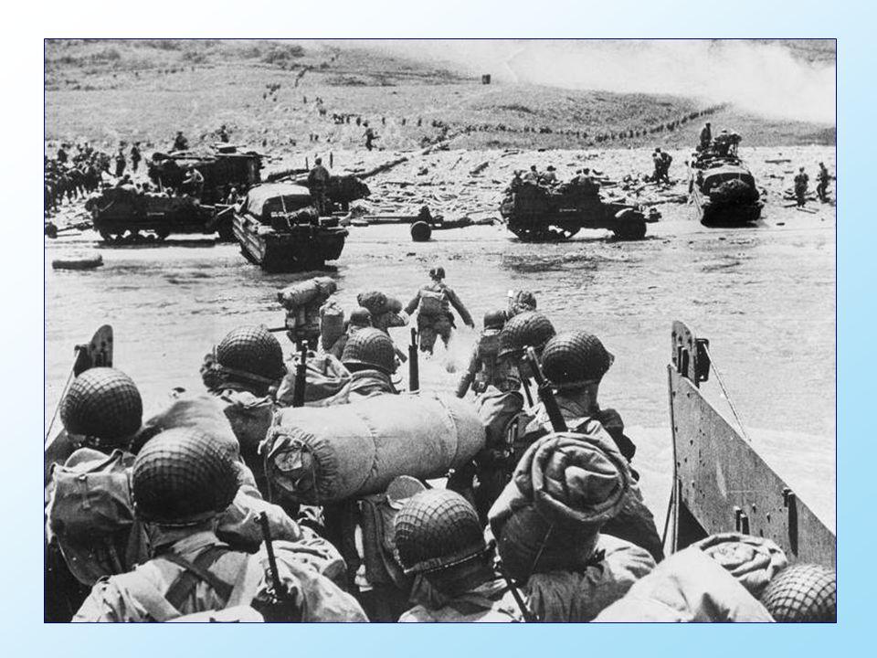 De geallieerde landing in Normandië leidde tot de bevrijding van Frankrijk, een definitieve ommekeer aan het West-Europese front tijdens de Tweede Wer