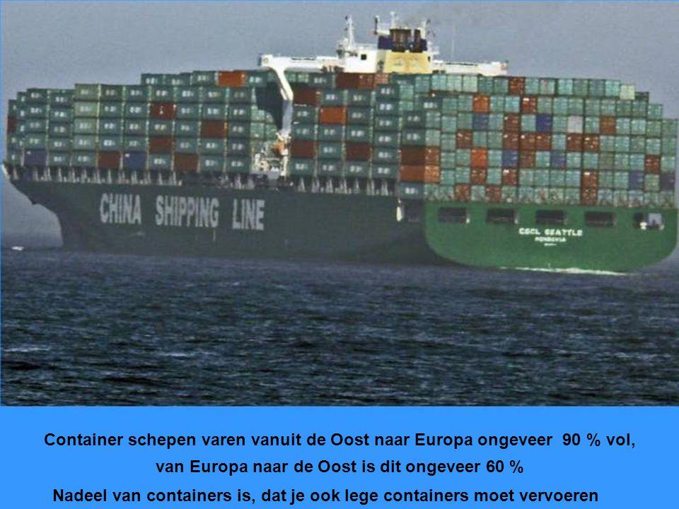 Één schip van een serie van acht, van de Nederlandse maatschappij Nedlloyd In 2004 grootste schip met grootste motor, Nedlloyd in 2006 opgekocht door