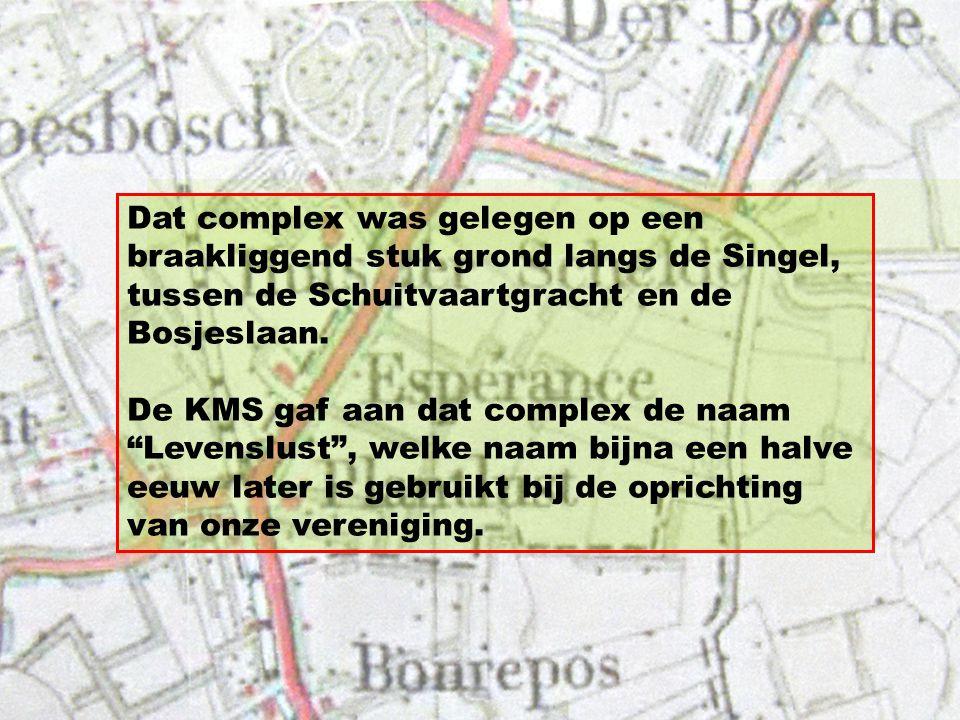 In 1912 stelde de Kon. Mij De Schelde een complex van 60 volkstuintjes à 200 m² aan haar werknemers ter beschikking tegen een prijs van 10 cent per we