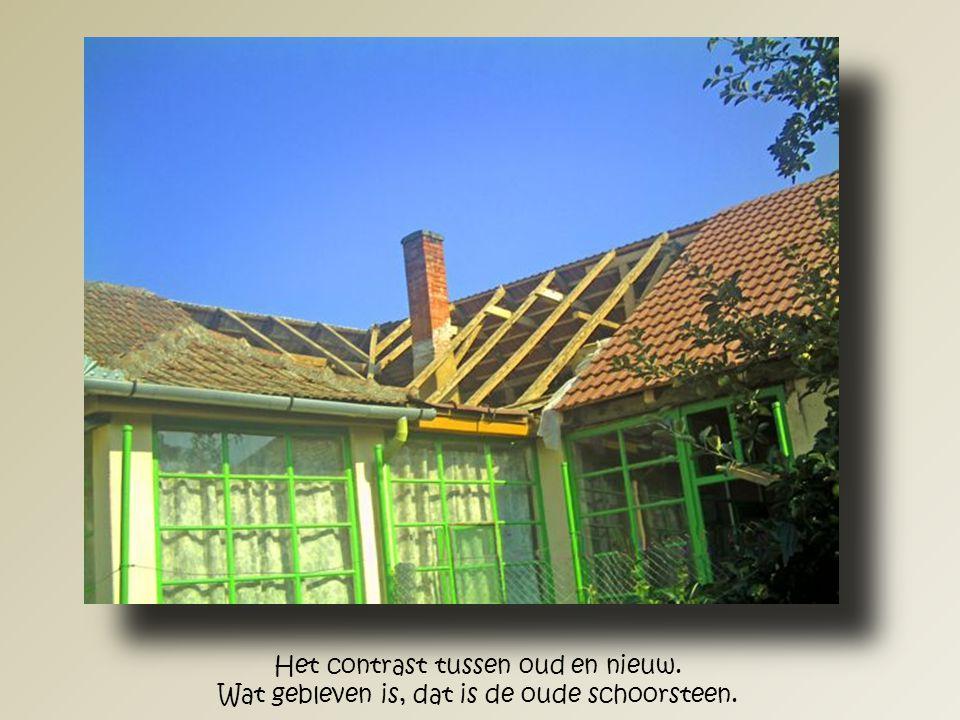 """Het huis """"Löke"""" gezien vanaf de voorzijde. Ook alle dakgoten werden opnieuw weer aangebracht."""