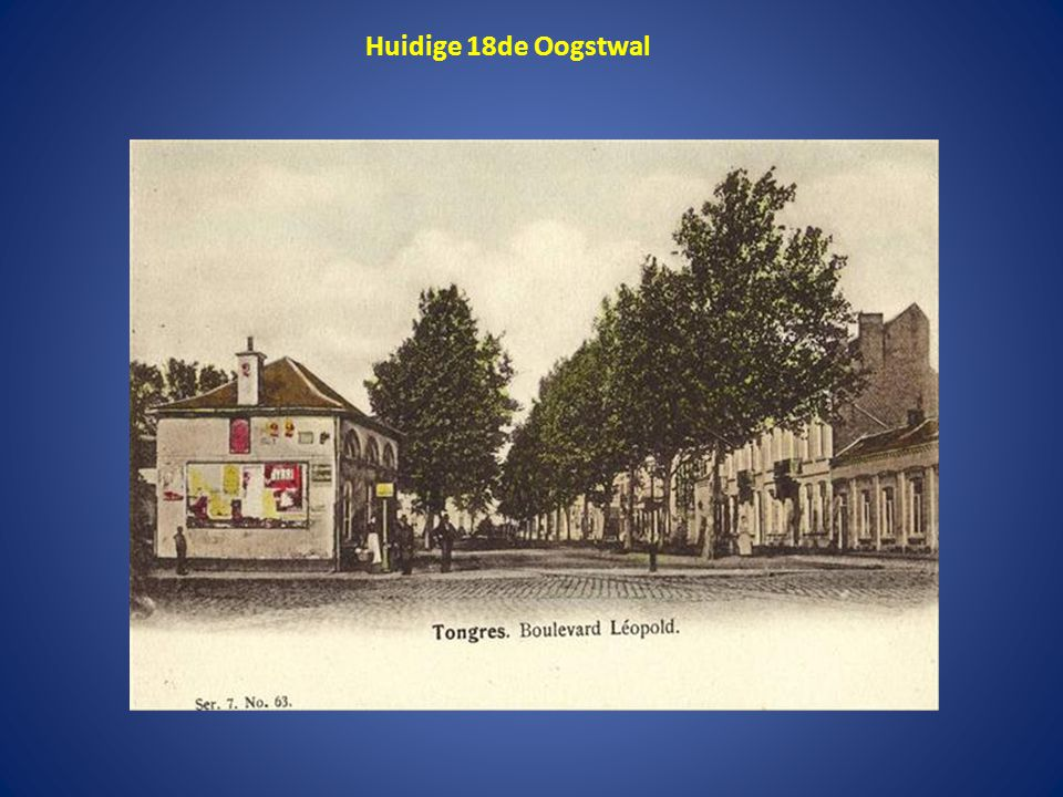 Leopoldwal, bekeken vanaf de Moerenpoort