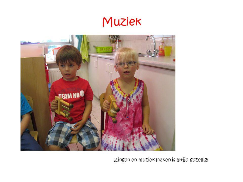 Muziek Zingen en muziek maken is altijd gezellig!