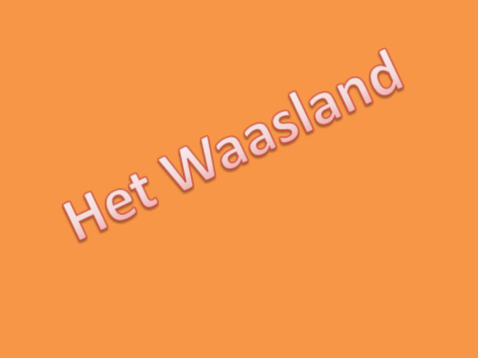 De kaart van het Waasland