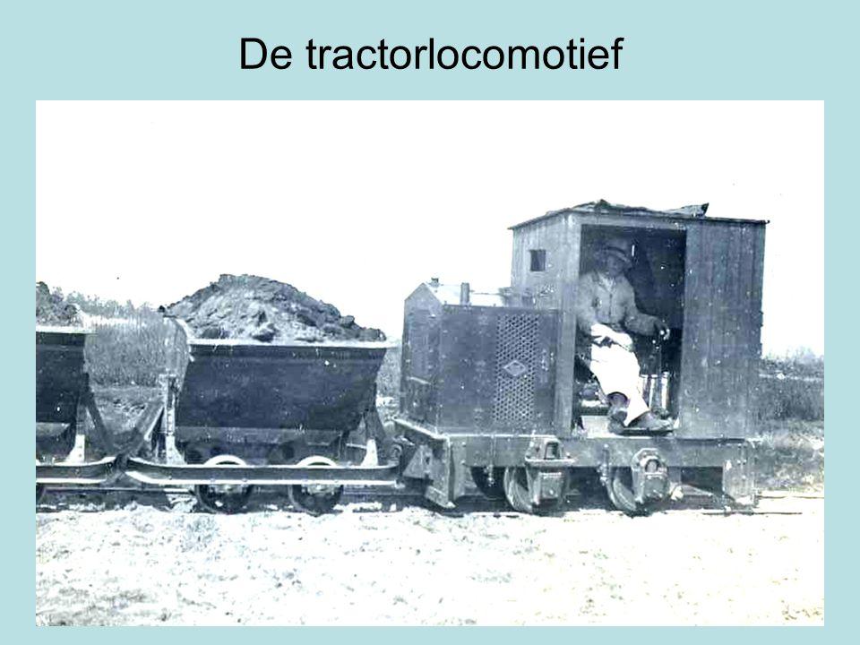 De tractorlocomotief