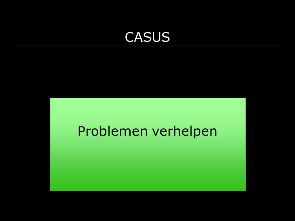 CASUS Problemen verhelpen
