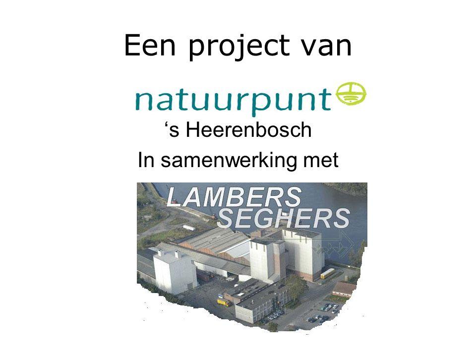 Een project van 's Heerenbosch In samenwerking met