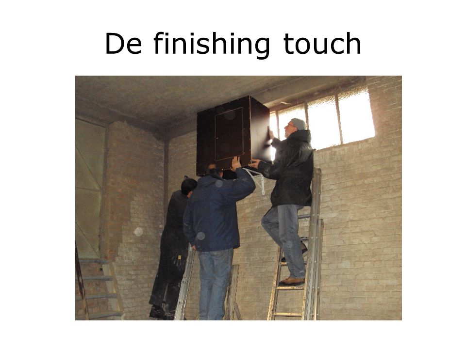 De finishing touch