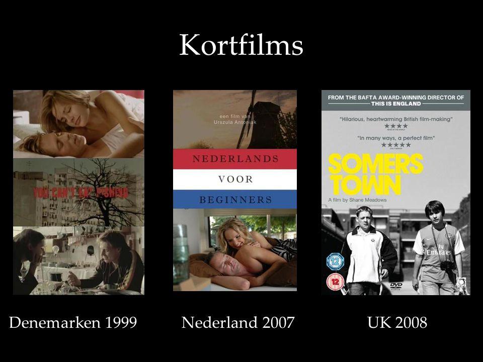 Kortfilms •D•D Denemarken 1999 Nederland 2007 UK 2008