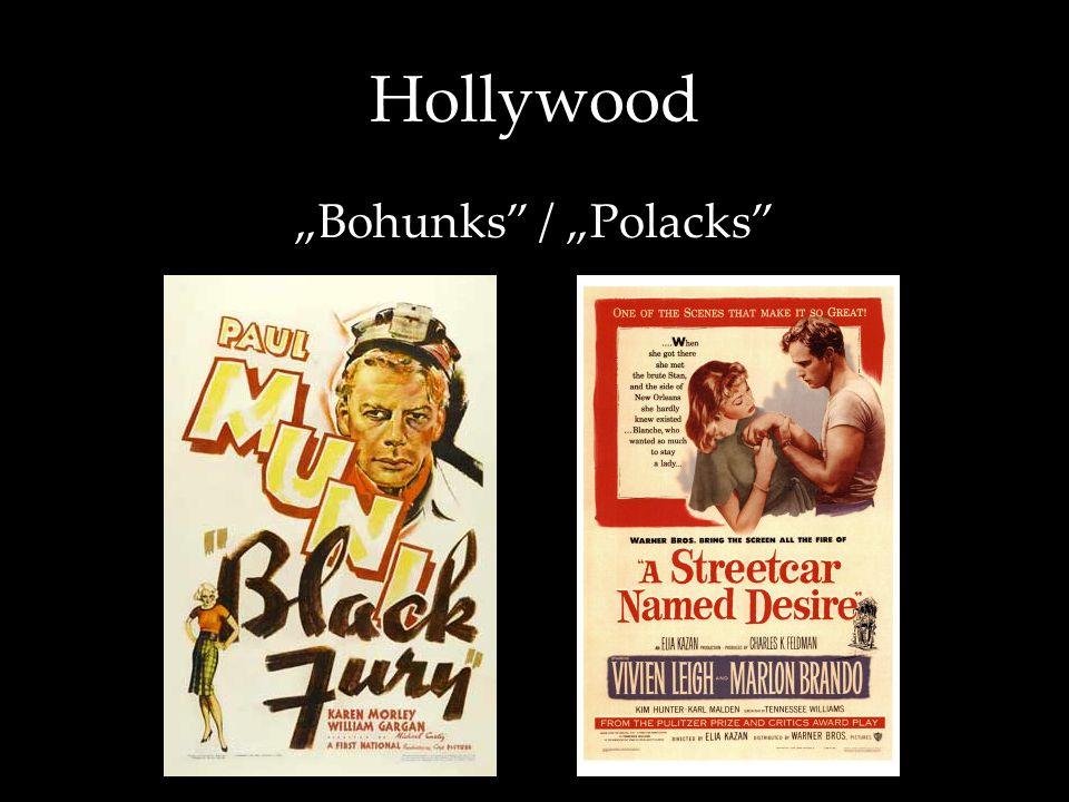 """Hollywood """"Bohunks"""" / """"Polacks"""""""