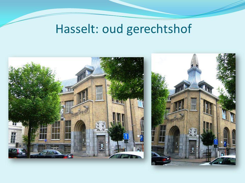 Hasselt: oud gerechtshof