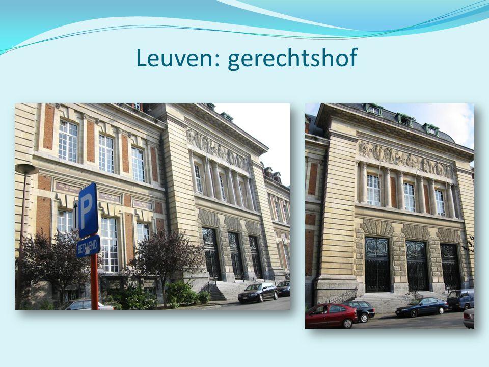 Leuven: gerechtshof