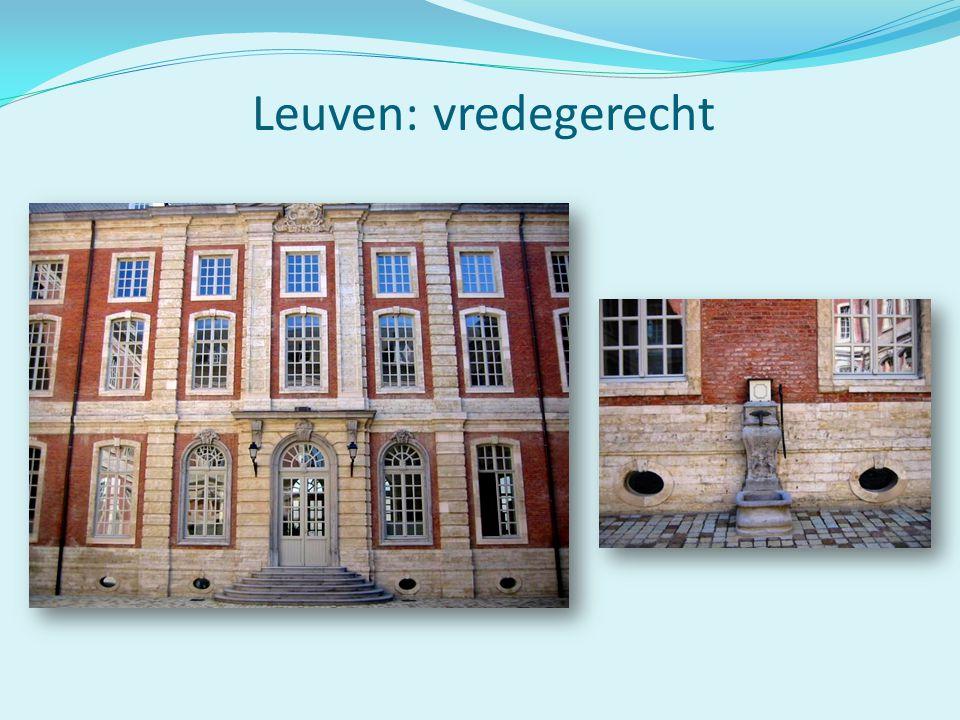 Leuven: vredegerecht