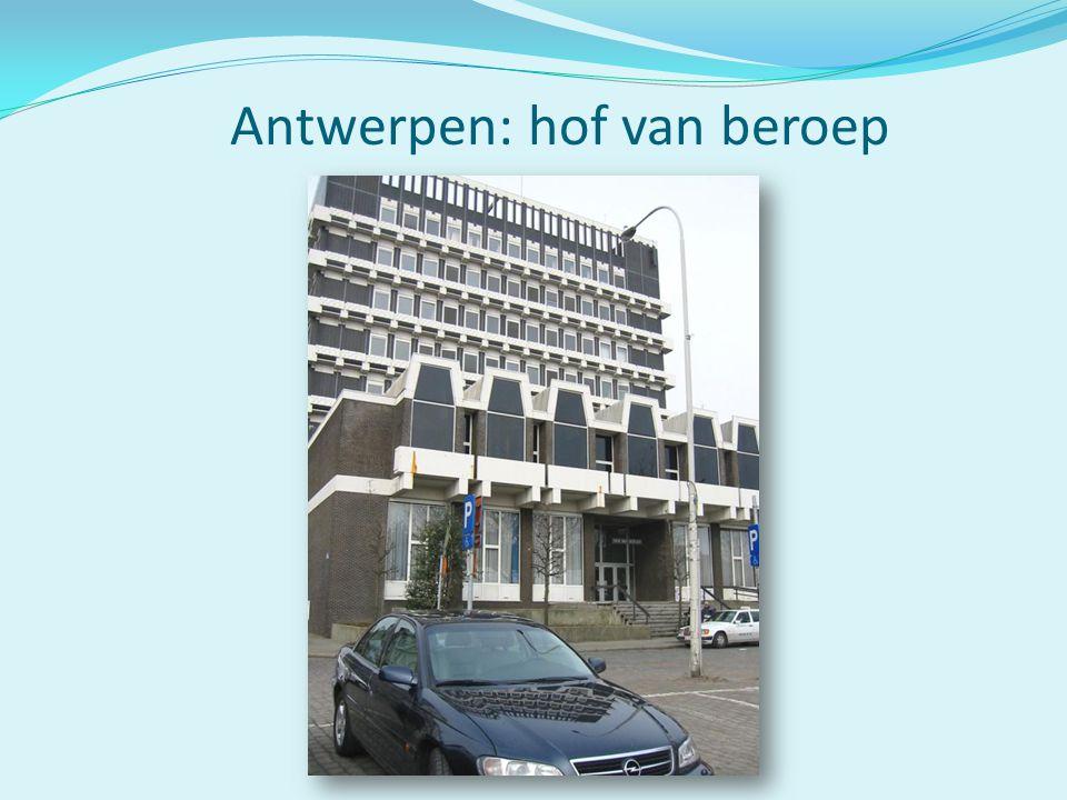 Antwerpen: hof van beroep