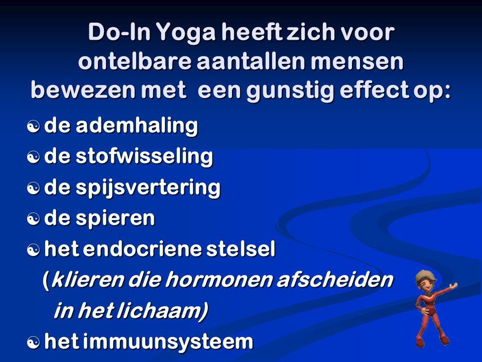  Opwarm(losmaak)oefeningen  Meridiaanstrekkingen (strekkingen van de energiebanen in het lichaam)  Concentratie-en meditatie oefeningen voor het opbouwen van Ki (levensenergie)  Harmonisering van de ademhaling  Do-In Ankyo(zelfmassage): massagetechnieken op jezelf of bij een partner