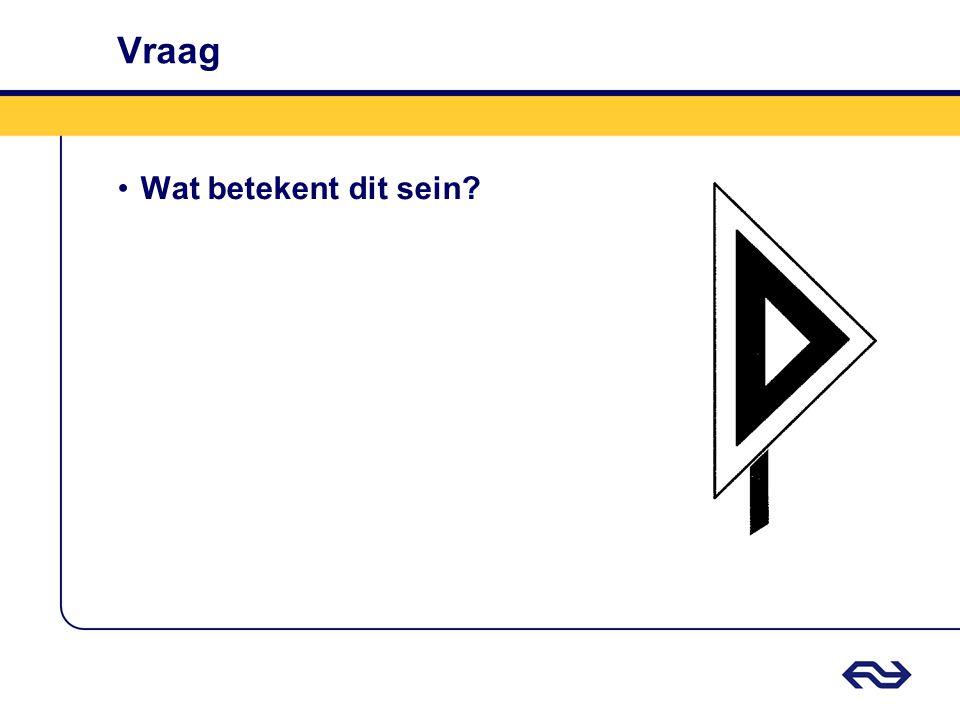 Antwoord Weegbrugsein driehoekig •Berijden van de weegbrug toegestaan met de plaatselijke snelheid.
