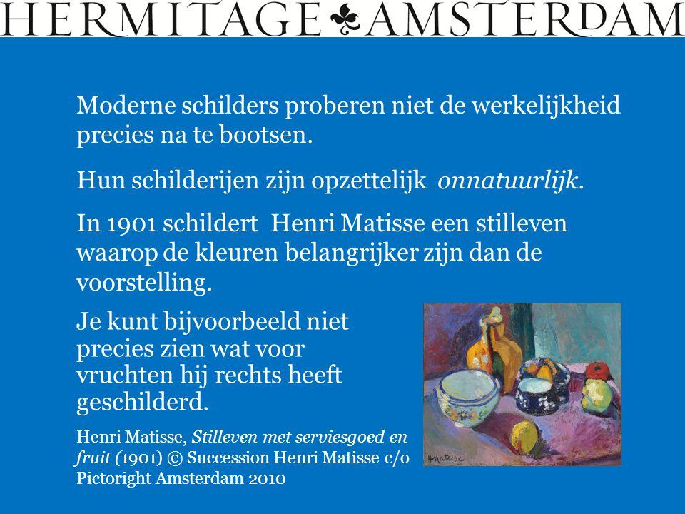Matisse en Picasso worden gezien als de belangrijkste kunstenaars van de 20 ste eeuw.