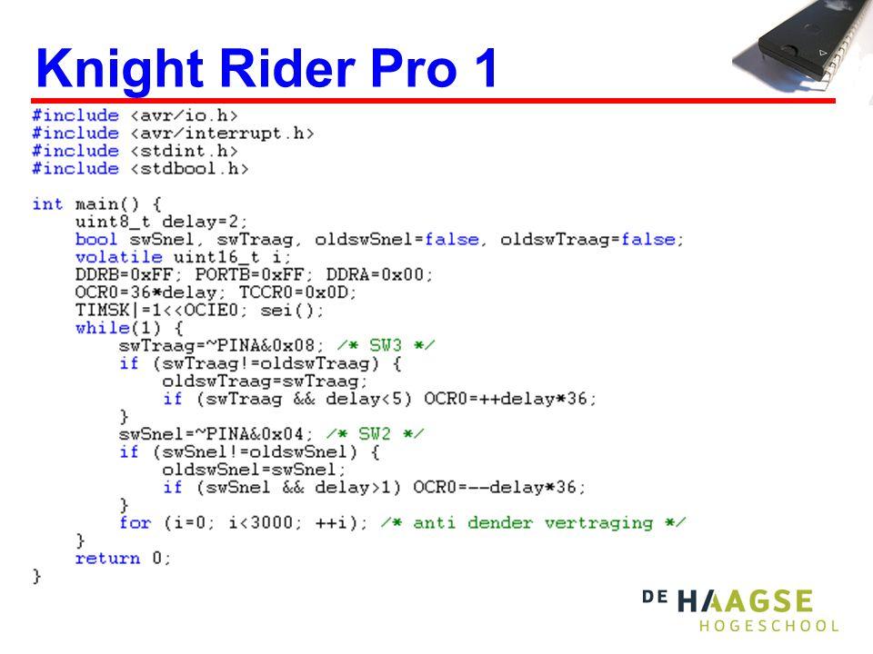 Knight Rider Pro 1