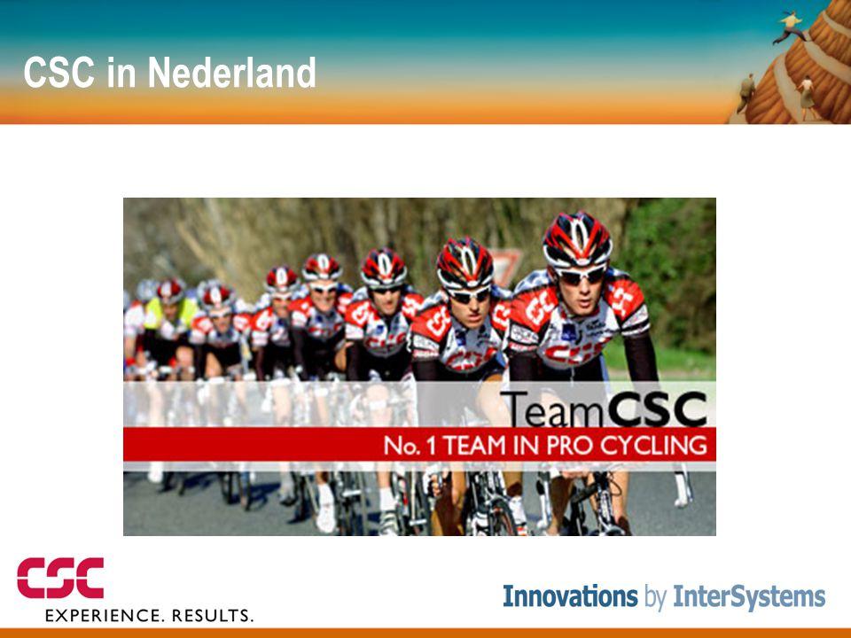 """CSC in Nederland • Ruim 600 medewerkers fysiek in Nederland, 78000 wereldwijd • Projecten: – C2000 project (communicatie """"zwaailichten branche"""") – Tra"""