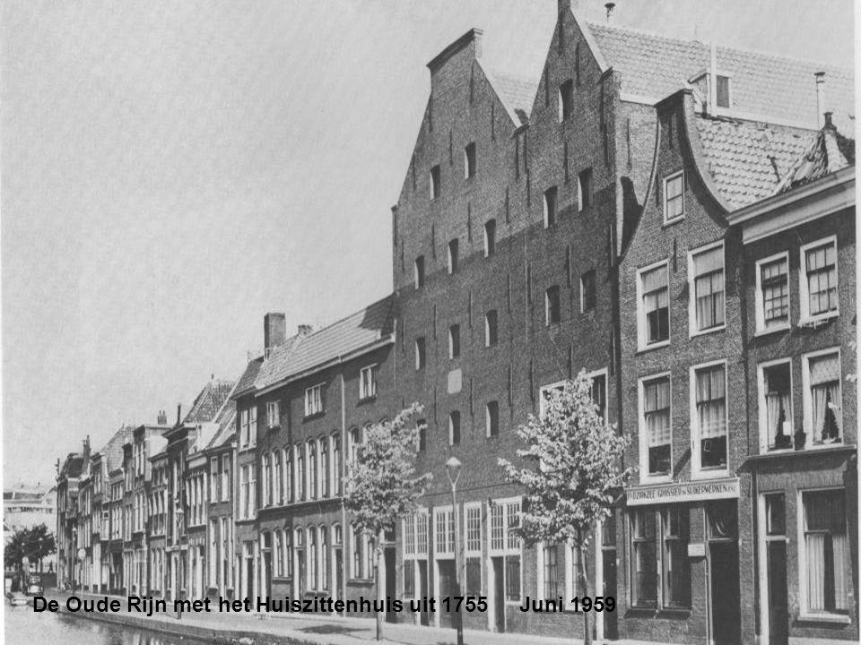 De Korevaarstraat met links een nog niet gedempt stukje Levendaal. Juni 1959