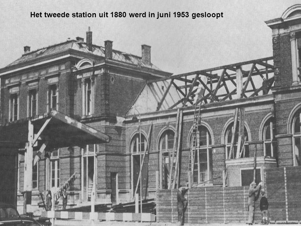 De Langegracht voor de demping in 1965 Juli 1957