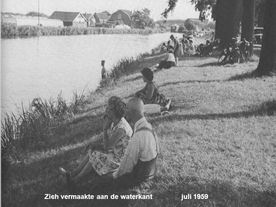 Waar jong en oud op zondagmiddag juli 1959
