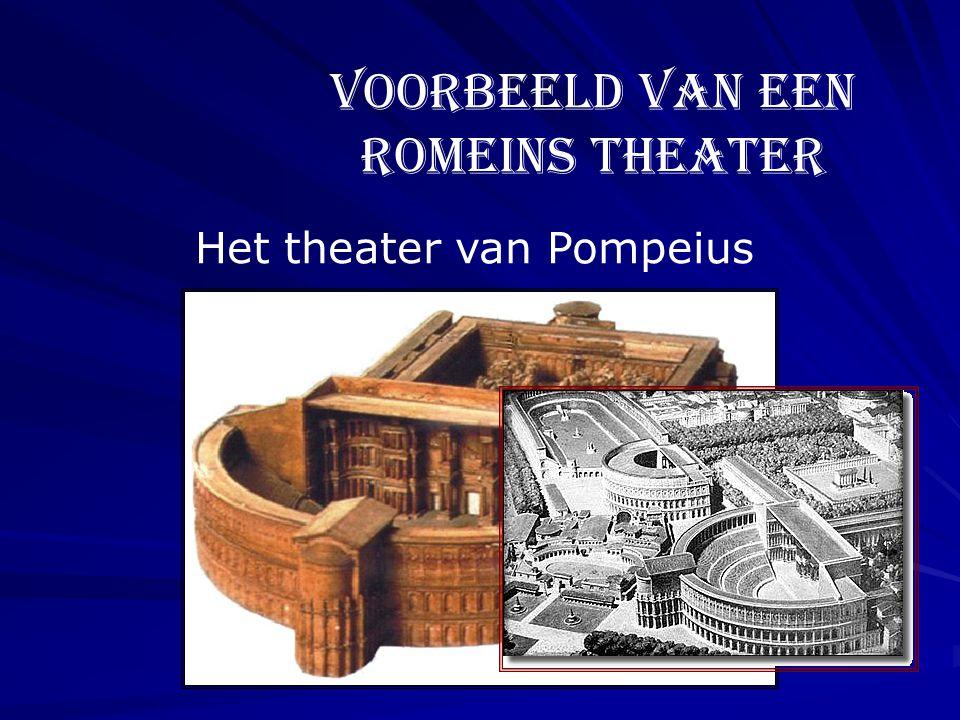 Het theater van Pompeius