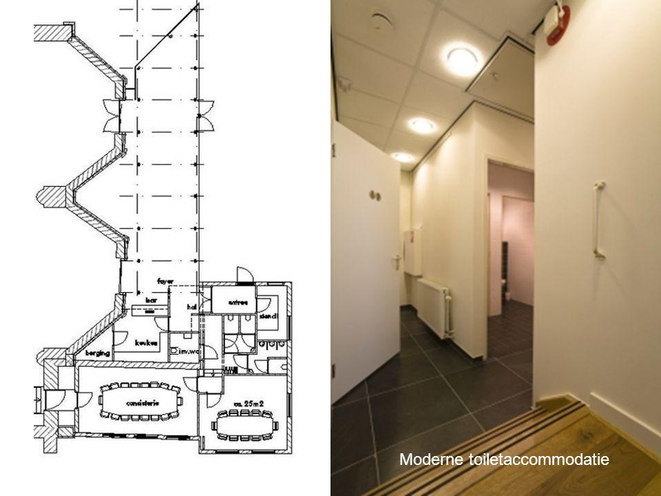 Moderne toiletaccommodatie