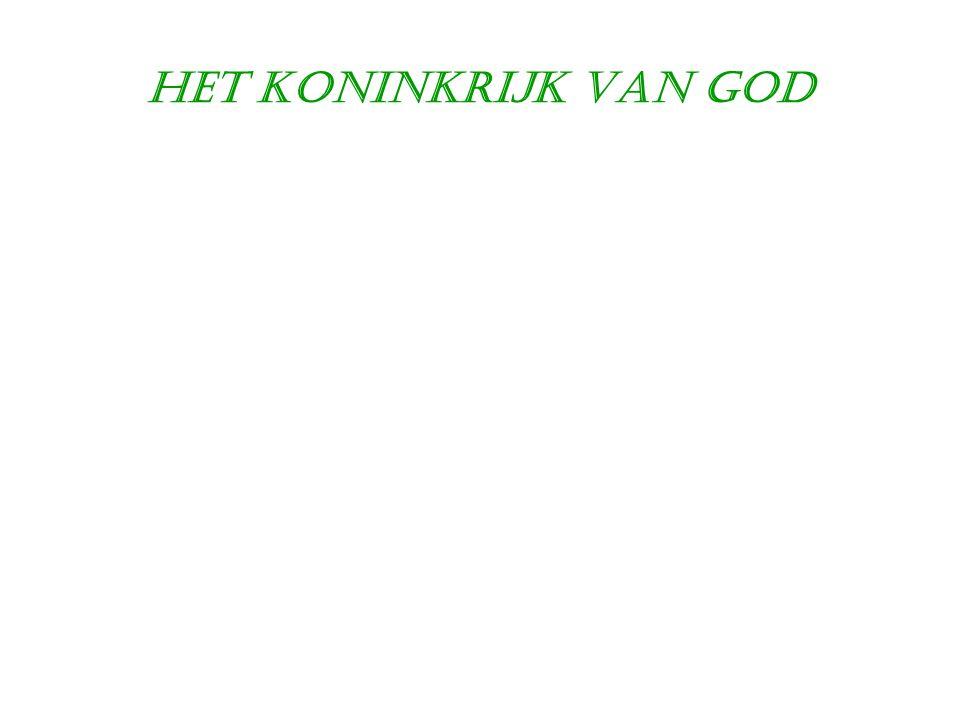 Het Koninkrijk van God