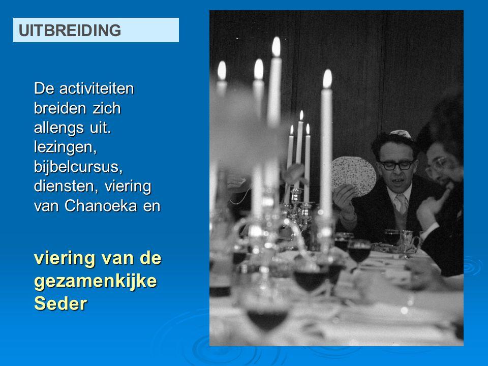 op weg naar de diepe wens van de gemeente: een centrum te zijn voor ontmoeting, bezinning en viering voor heel veel Joodse Gelderlanders.