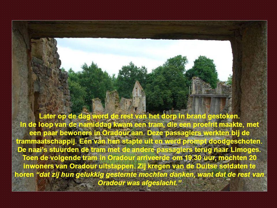"""De moordenaars van het """"Herrenvolk""""slachtten honderden vrouwen en kinderen af. Het jongste slachtoffertje was nog geen week oud !!!"""