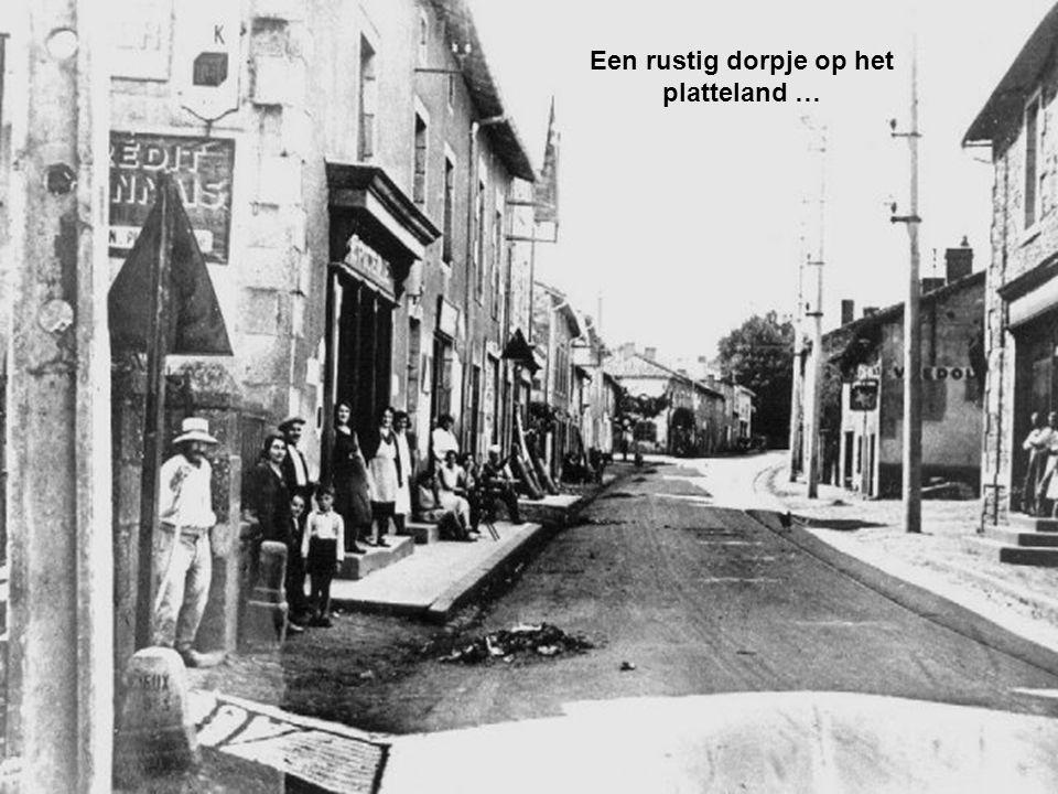 Een Duits officier, die goed Frans sprak, beval burgemeester Desourteaux hem gijzelaars aan te wijzen.
