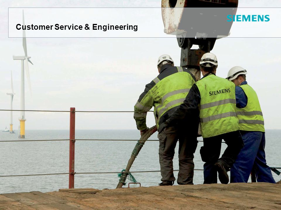 Customer Service & Engineering