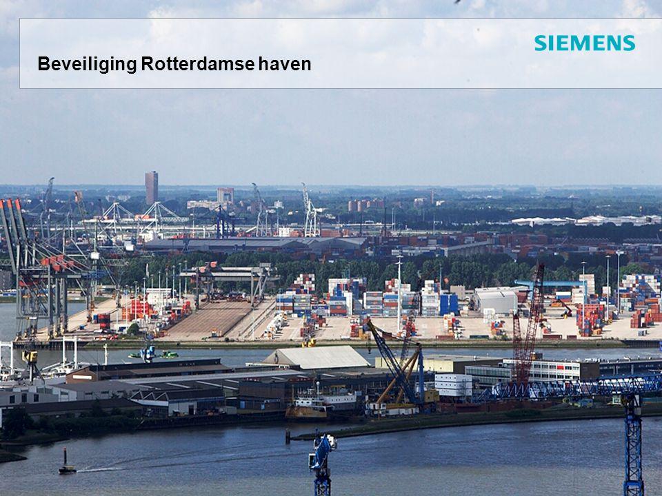 Beveiliging Rotterdamse haven
