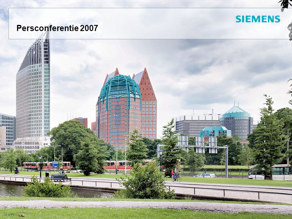 Persconferentie 2007