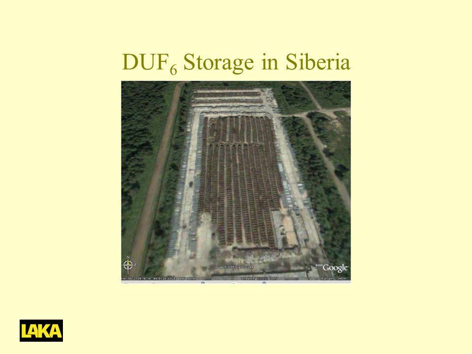 DUF 6 Storage in Siberia