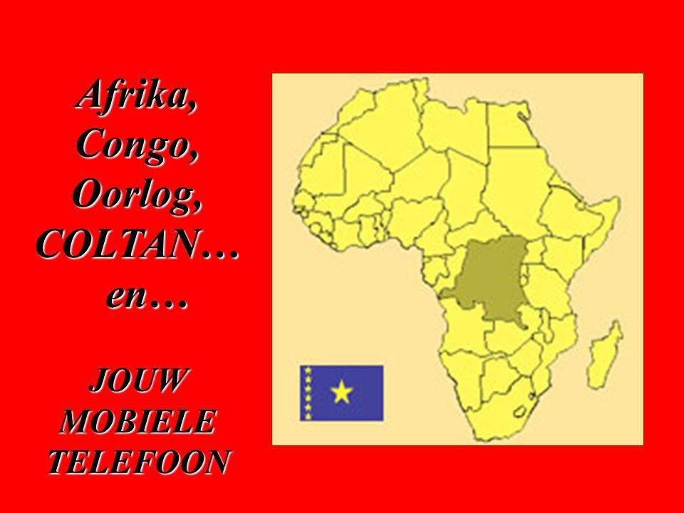 EN ALS CONCLUSIE … Congo, een immens rijk land, leeft in armoede en ontbering.
