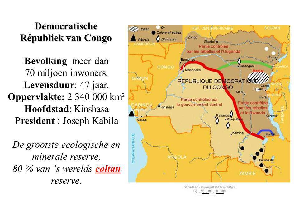 Waar bevindt zich de Democratische Republiek van Congo? Wat heeft dit te doen met mijn mobiele telefoon?