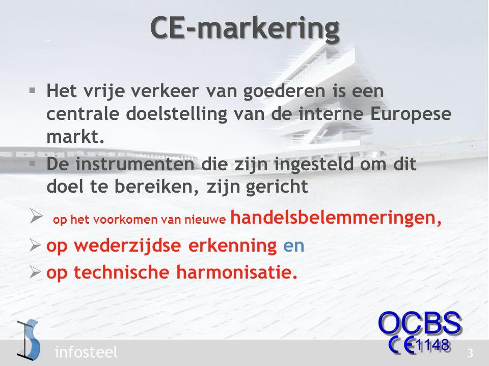 infosteel  Het vrije verkeer van goederen is een centrale doelstelling van de interne Europese markt.