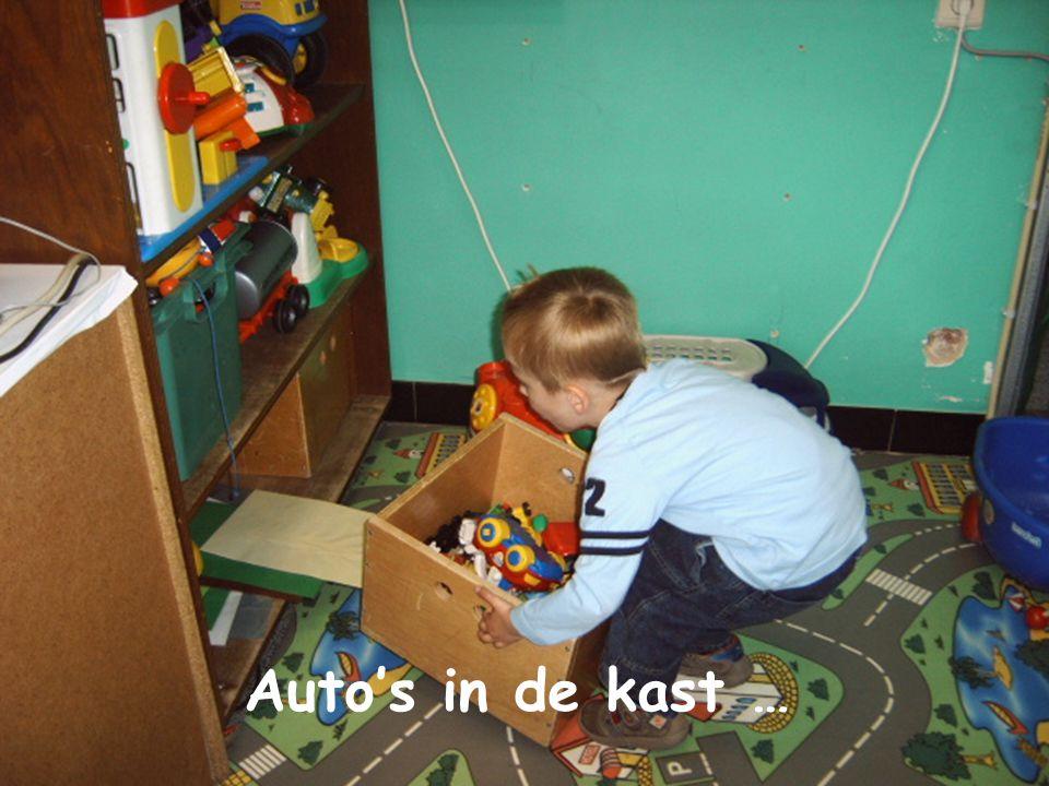 Auto's in de kast …