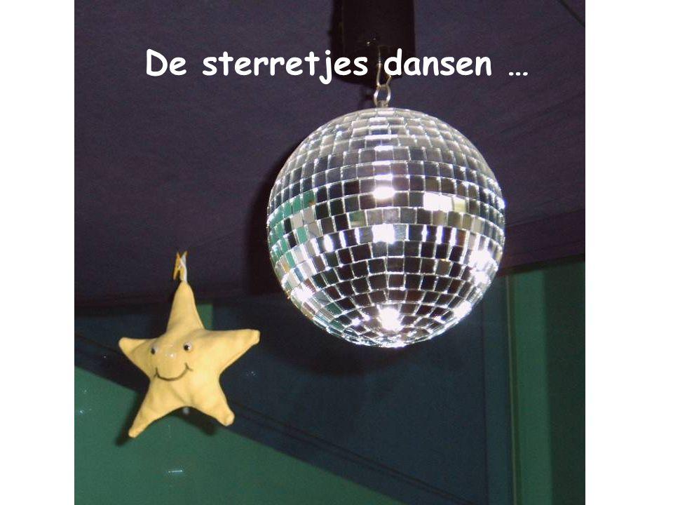 De sterretjes dansen …