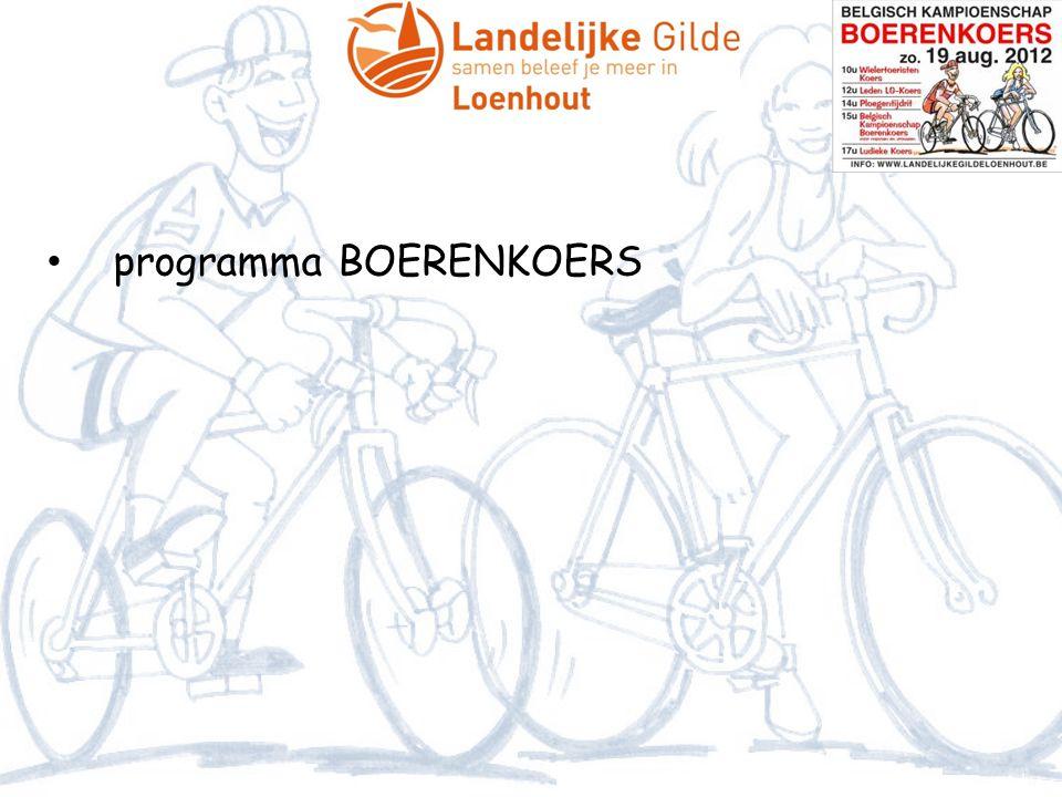 • programma BOERENKOERS