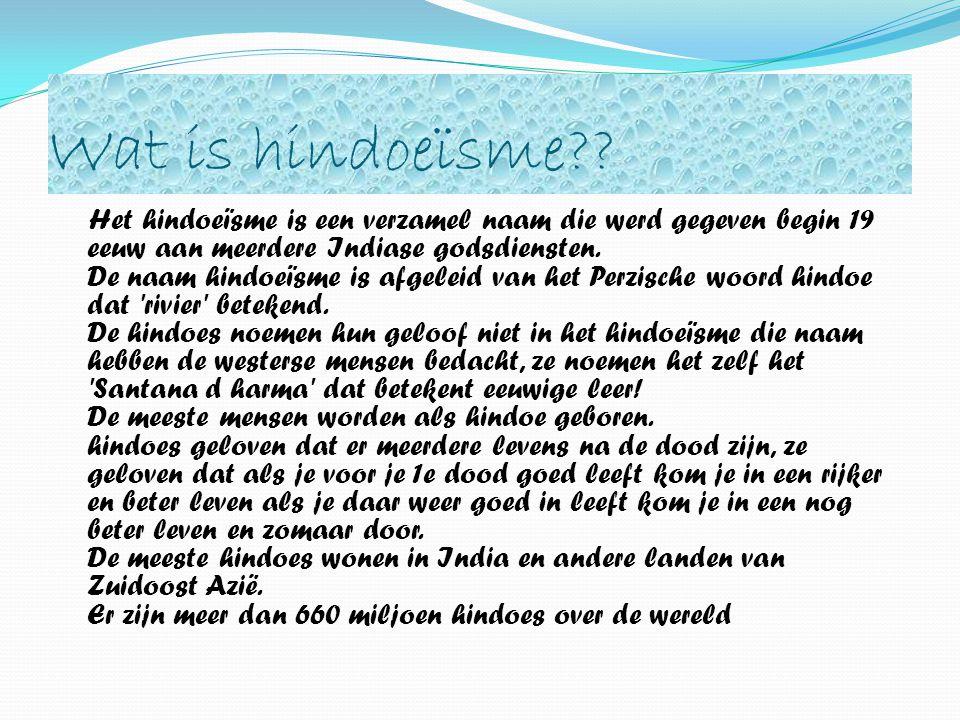 Wat is hindoeïsme?.